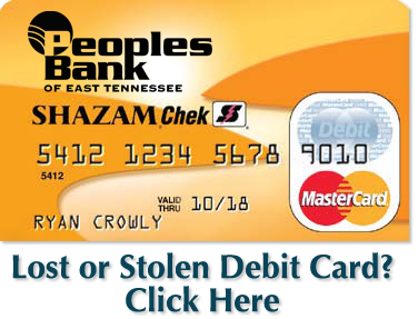 Lost or Stolen Credit Card